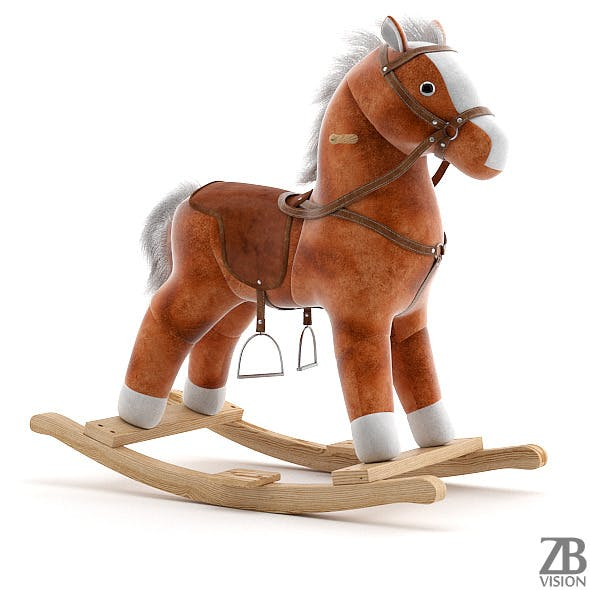 Rocking Horse - 3DOcean Item for Sale