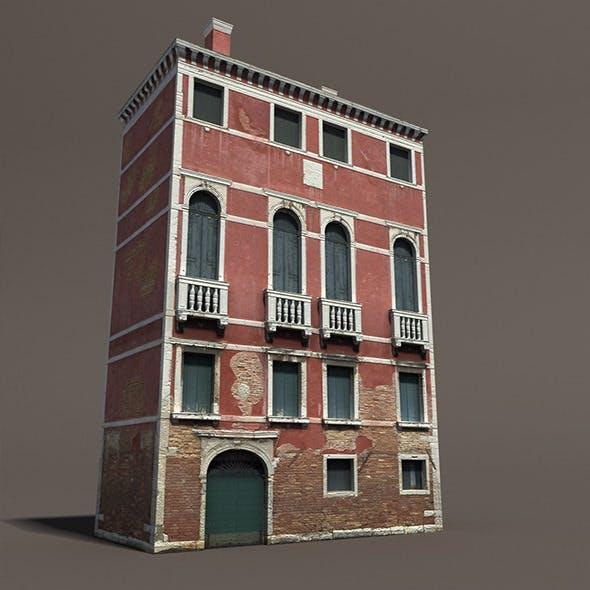 Venice Building #133 Low Poly Building - 3DOcean Item for Sale