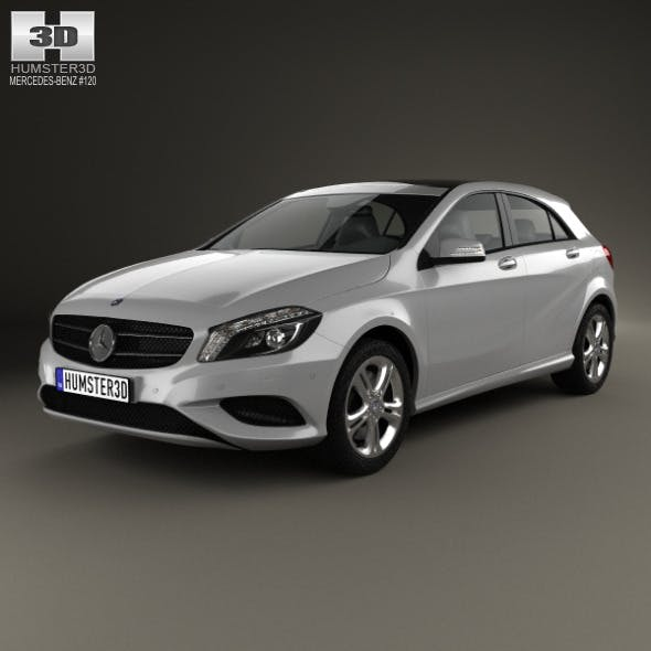 Mercedes-Benz A-class (W176) Urban Package 2013 - 3DOcean Item for Sale