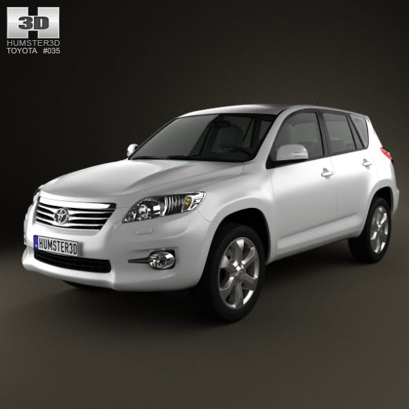 Toyota Rav4 European 2012 - 3DOcean Item for Sale