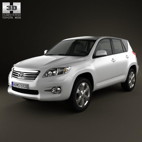Toyota Rav4 European 2012