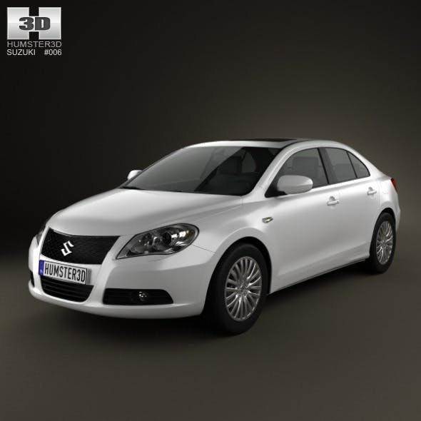 Suzuki Kizashi 2010 - 3DOcean Item for Sale