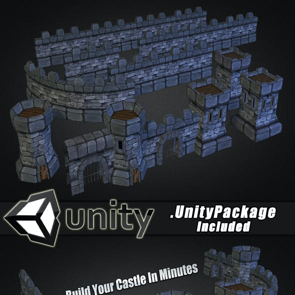 Medieval Stone Castle Pack