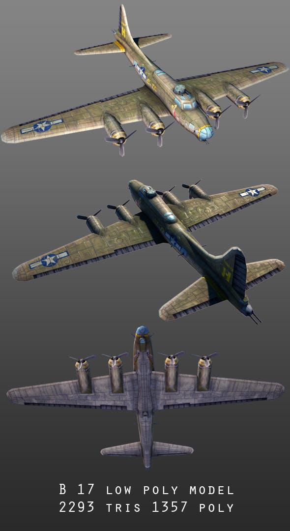B-17  - 3DOcean Item for Sale