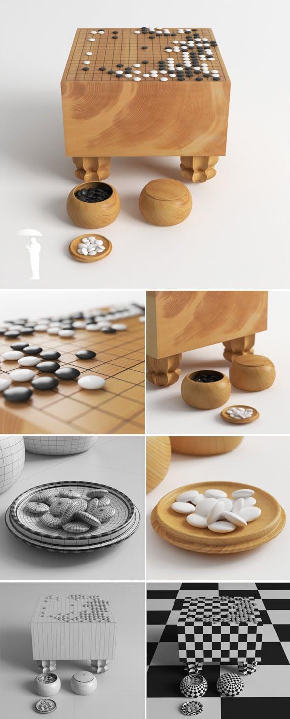 Goban - 3DOcean Item for Sale