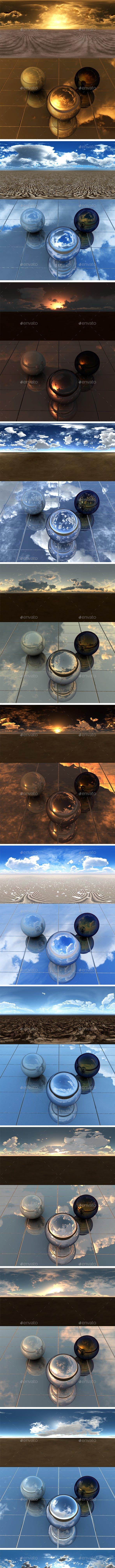 Pack - Desert 20 - 3DOcean Item for Sale