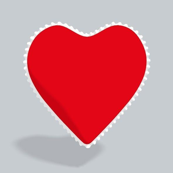 3D Heart lace - 3DOcean Item for Sale
