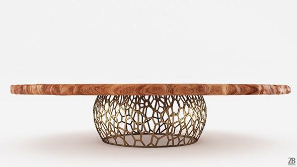 Brabbu Apis Table - 3DOcean Item for Sale