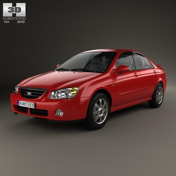 Kia Cerato (Spectra) sedan 2004 - 3DOcean Item for Sale