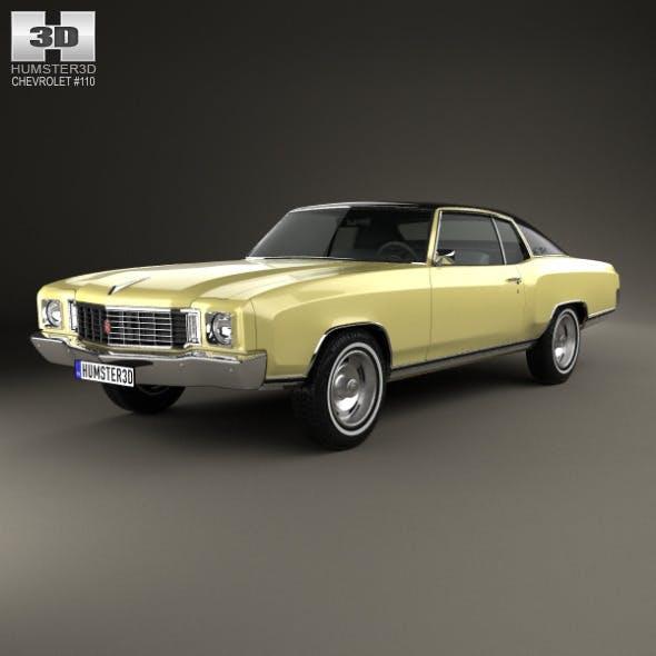 Chevrolet Monte Carlo 1972 - 3DOcean Item for Sale