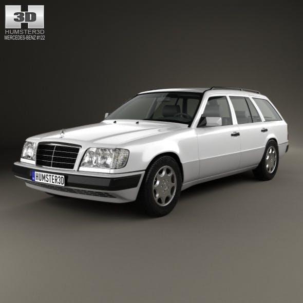 Mercedes-Benz E-class Wagon 1993 - 3DOcean Item for Sale