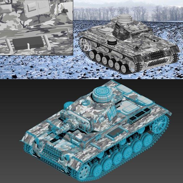 T-3 Kurz German Tank