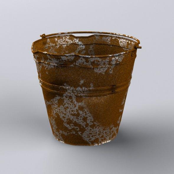 Crumpled Bucket