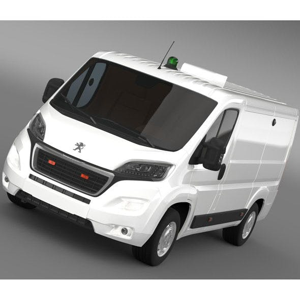 Peugeot Boxer Collection Services 2015 - 3DOcean Item for Sale