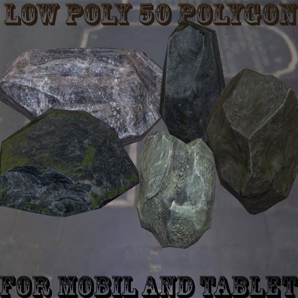 Rock_Set - 3DOcean Item for Sale
