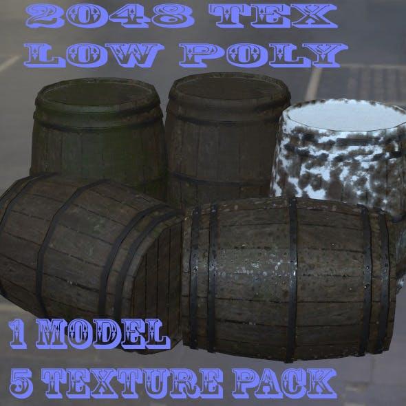 Barrel_Set - 3DOcean Item for Sale
