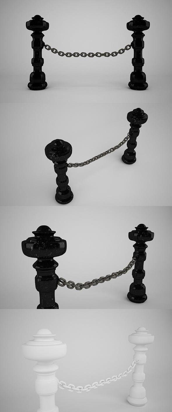 Barrier (VrayC4D) - 3DOcean Item for Sale