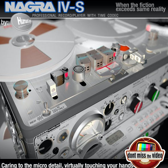 Realistic portable reel tape record/player NagraIV