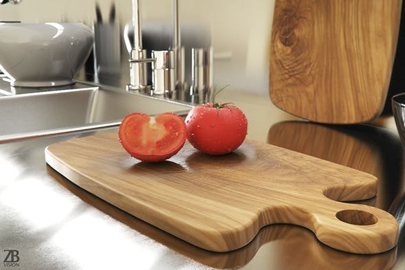 Cutting Board - 3DOcean Item for Sale