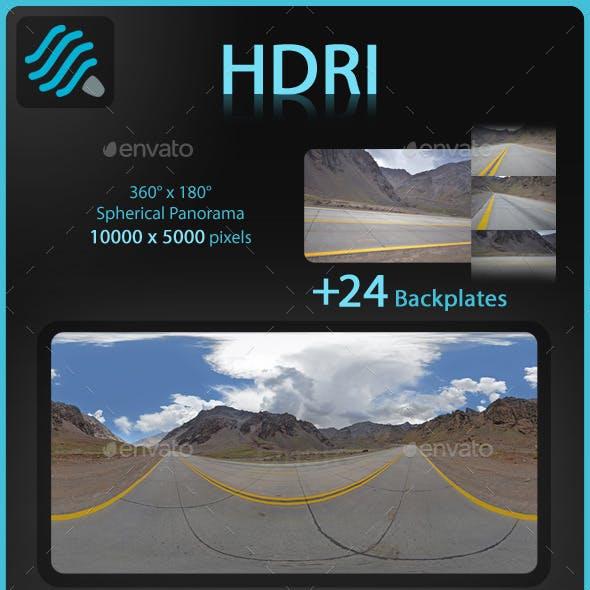 HDRI Mountain Route 5