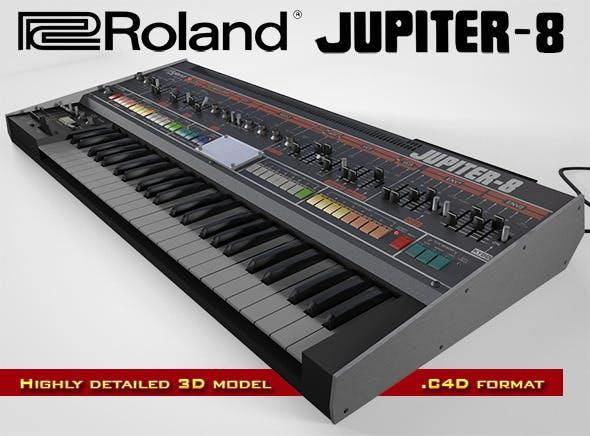 Roland Jupiter-8 - 3DOcean Item for Sale