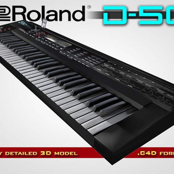Roland D-50 Digital Synthesizer