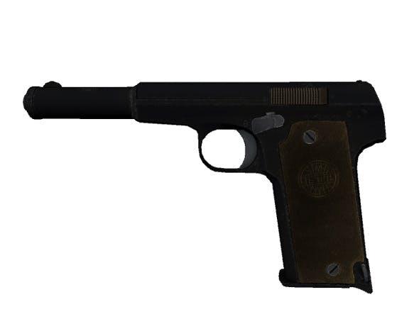 Astra 400 9mm Pistol - 3DOcean Item for Sale