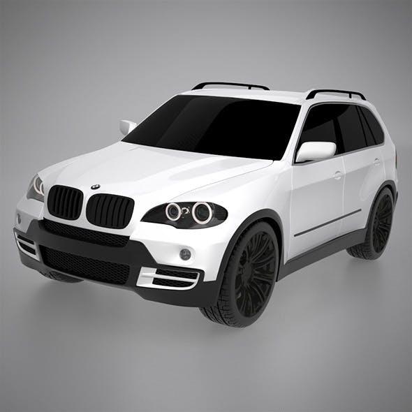 BMW X5 3D model