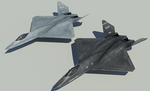 Northrop YF-23 - 3DOcean Item for Sale