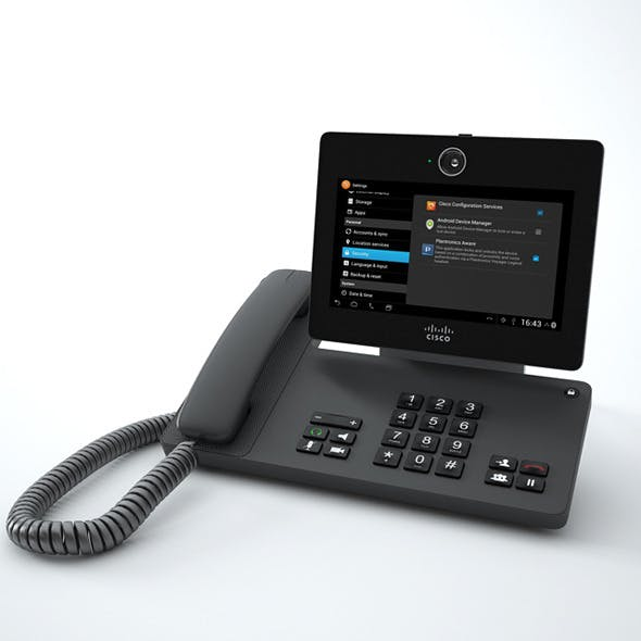 Cisco Phone DX650 - 3DOcean Item for Sale