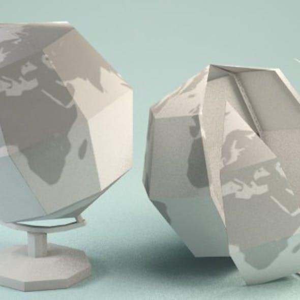 Paper Globe