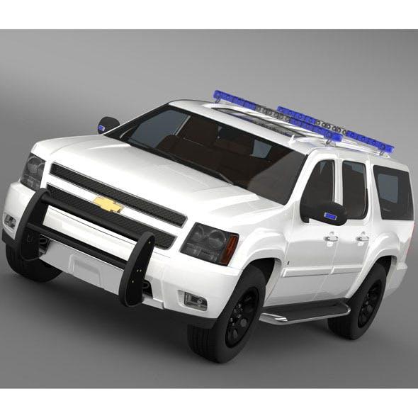 Chevrolet Suburban Z71 Police