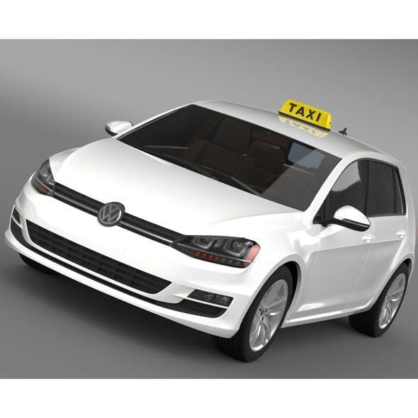 Volkswagen Golf TSI Taxi