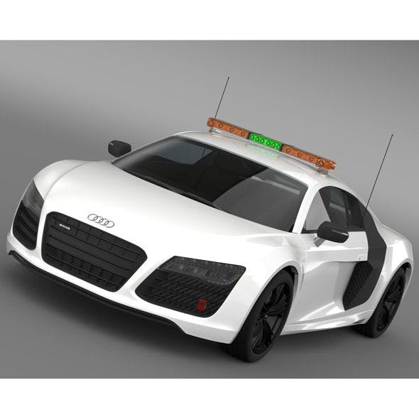 Audi R8 V10plus Safety Car