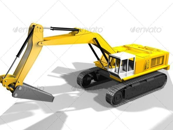 Heavy vehicles - 3DOcean Item for Sale