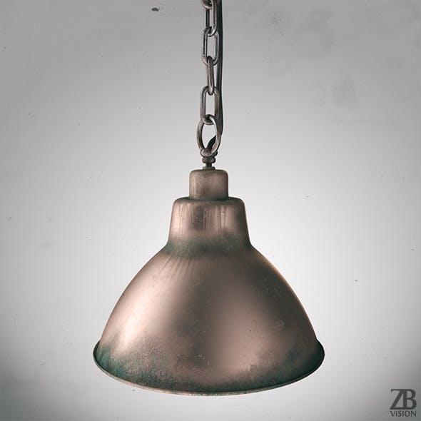 Industrial Lamp - 3DOcean Item for Sale