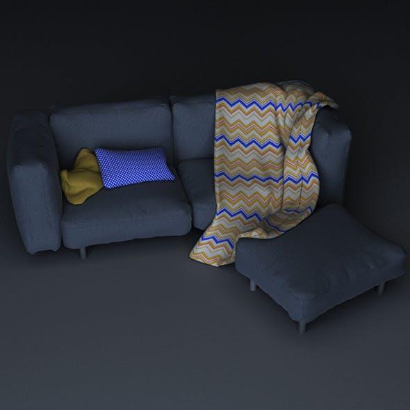 Sofa set - 3DOcean Item for Sale