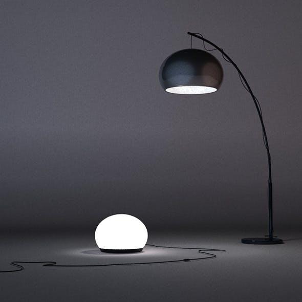 Lamps set - 3DOcean Item for Sale
