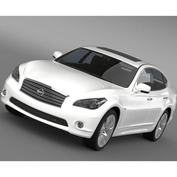 Nissan Fuga (Y51) - 3DOcean Item for Sale