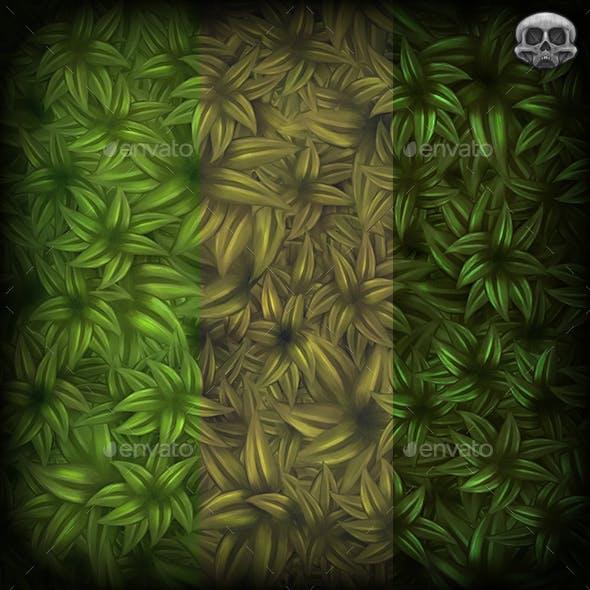Leafy Bush Texture Tile
