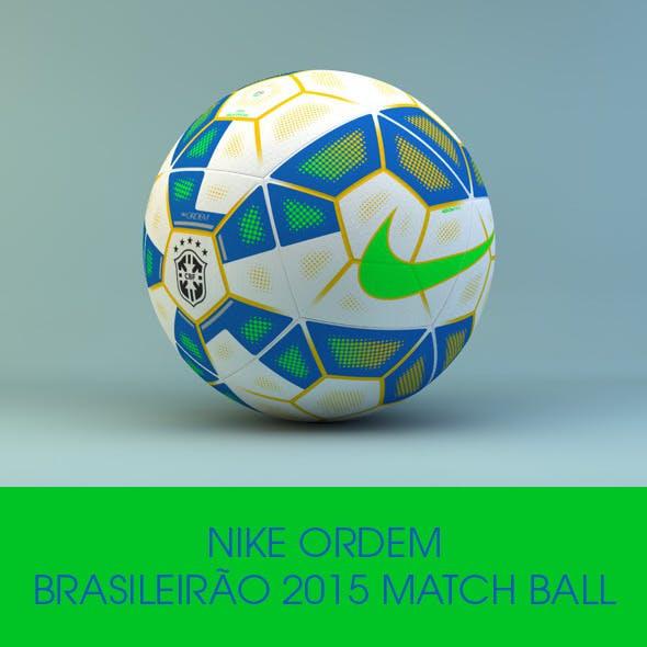 Nike Ordem Brasileirão Official 2015 Ball