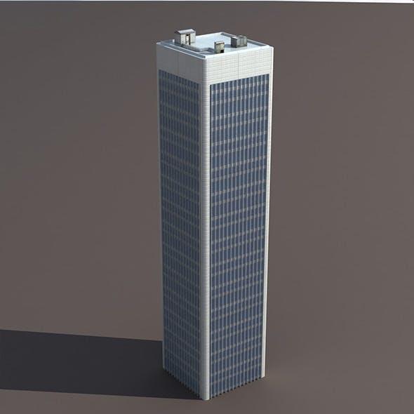 Skyscraper #7 Low poly 3d Model
