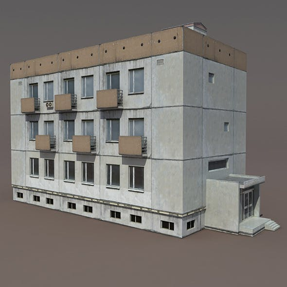 Residential Building #7 - 3DOcean Item for Sale