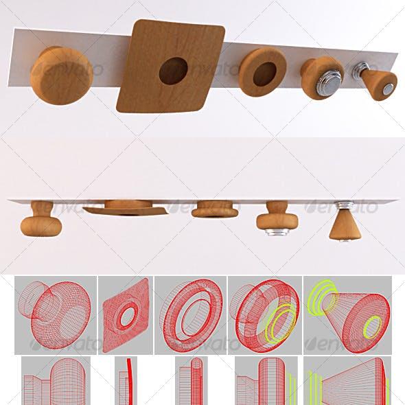 SET 01 - Furniture Handles