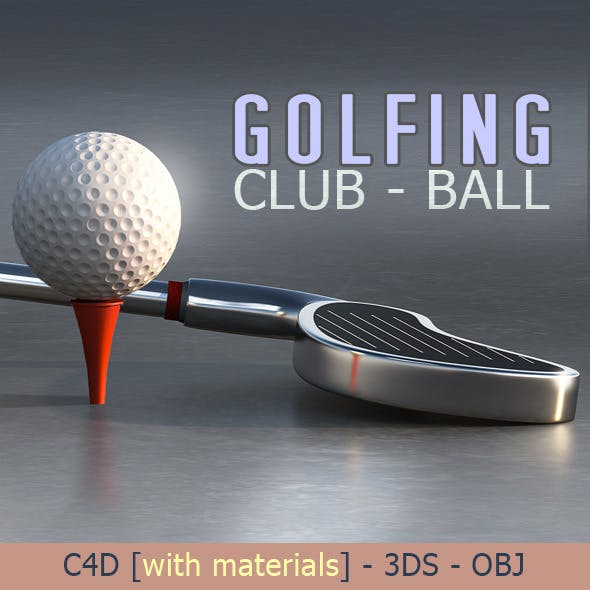 Golf Club & Ball