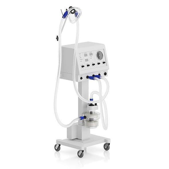 Medical Ventilator - 3DOcean Item for Sale