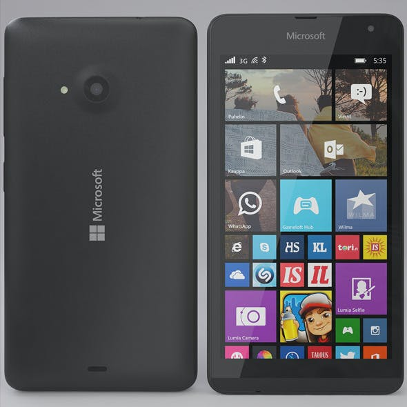 Microsoft Lumia 535 Gray