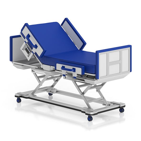 Advanced Hospital Bed - 3DOcean Item for Sale