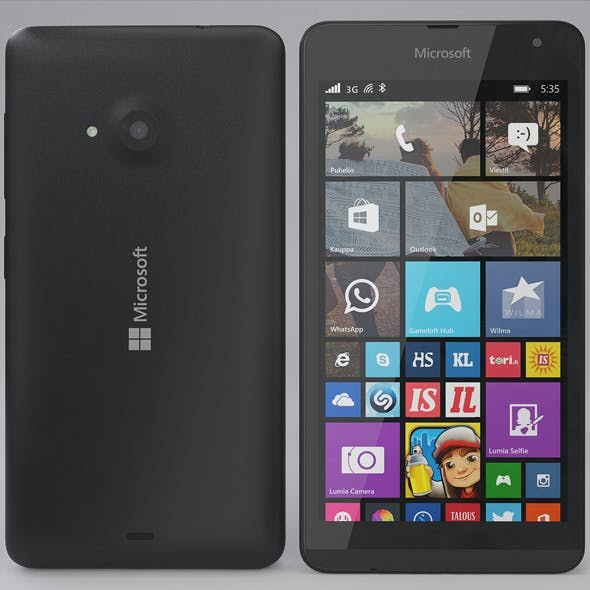 Microsoft Lumia 535 Black