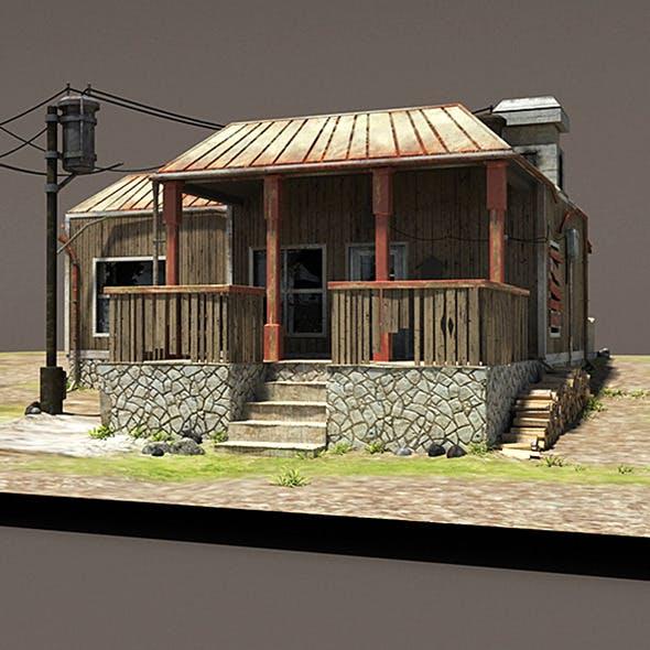 Zombie House Post Apocalyptic Ruin